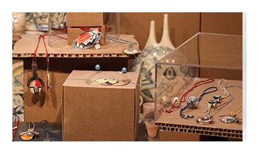 Artboxes arquitectura efimera en cartón Zaragoza