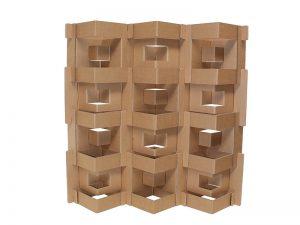 muebles de cartón estantería