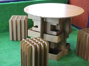 Artboxes · Mobiliario de cartón