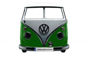 photocall furgoneta verde vintage