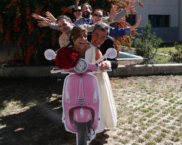 Matrimonio Catolico Sin Fiesta : Photocall boda tu con un