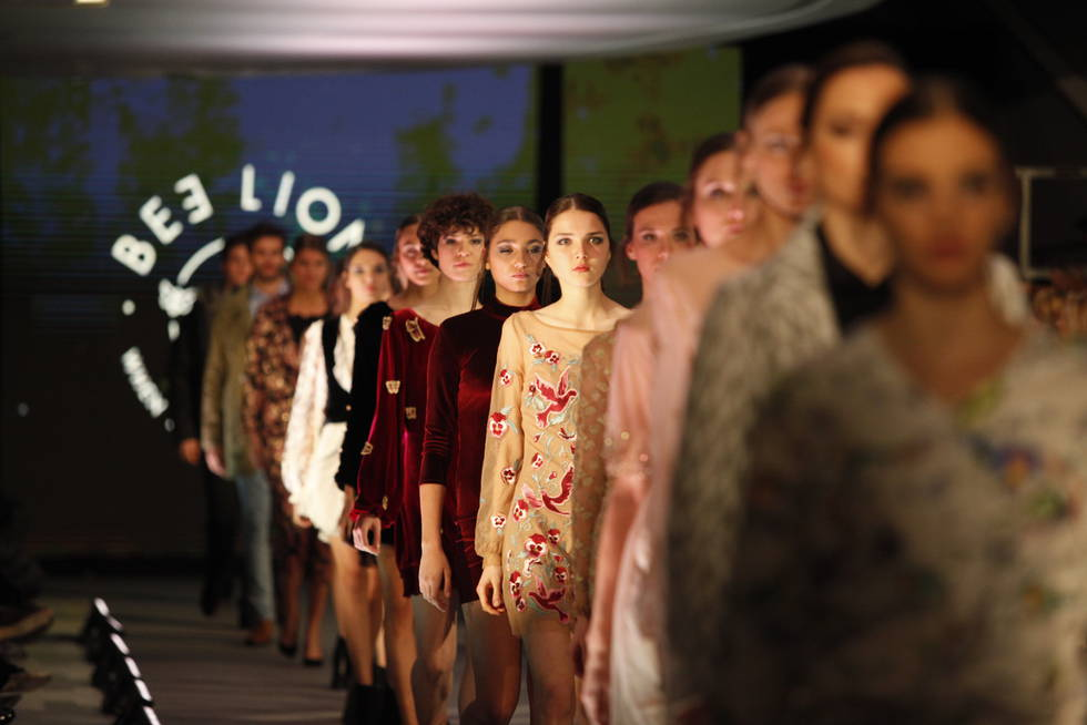 Bee Lion Fashion Runway 2017 zaragoza