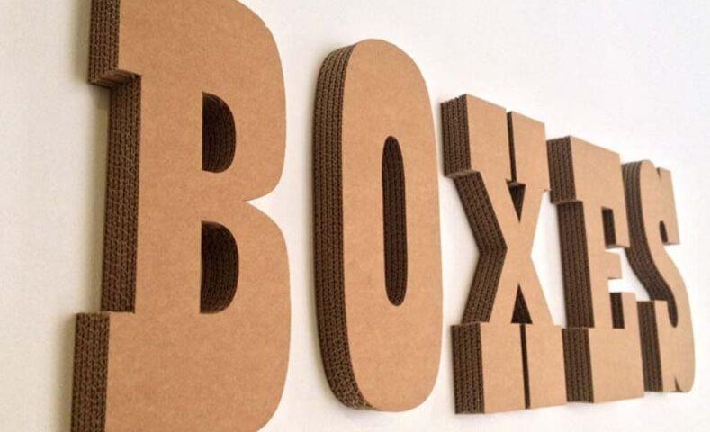 letras carton zaragoza