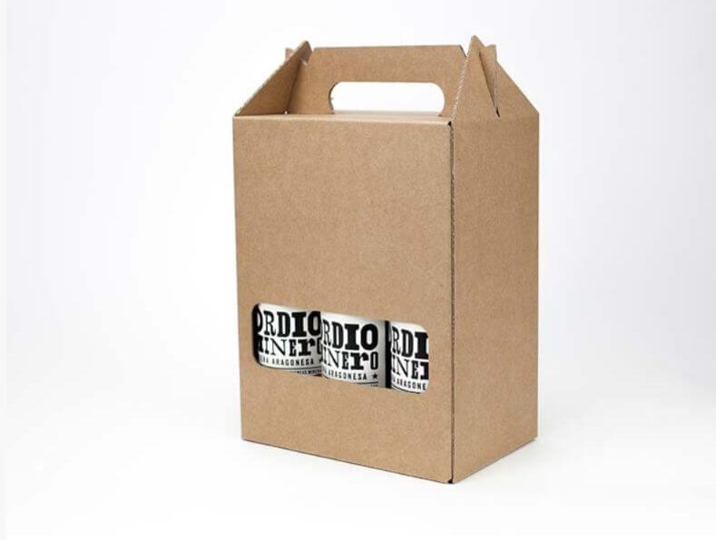 packaging en cartón