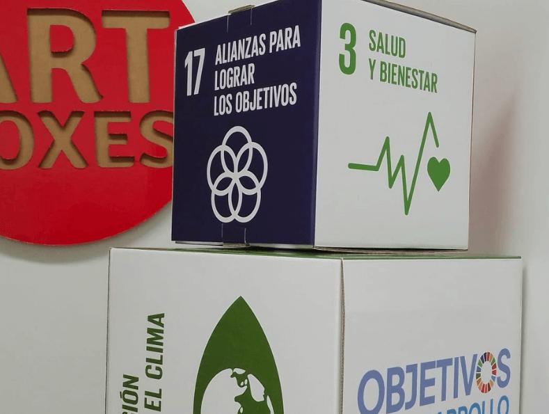 Cubos de cartón